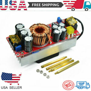 1800w 40a Boost Converter Dc dc Constant Voltage Current Power Supply Module Us