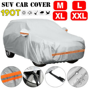 Full Suv Car Cover Indoor Outdoor Sun Uv Snow Dust Resistant Waterproof 4 Size Fits 1968 Mustang