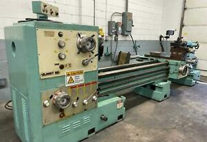 Summit 30 Swing 120 Centers Gap Bed Engine Lathe W taper Attachment And Dro