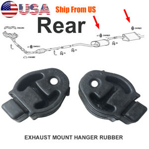 2x Exhaust Hanger Rubber Mount For Ford Fiesta Focus C Max Transit Fdr55 255 126