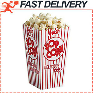 44e Open Top Popcorn Boxes pack Of 50ct