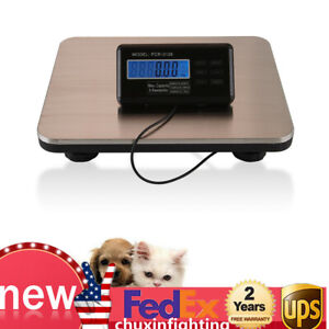 Multi function Digital Pet Scale 660lbs Dog Puppy Cat Floor Bench Scale 300kg