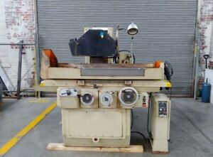 Brown Sharpe 824 Mircomaster Automatic Surface Grinder Electro magnet