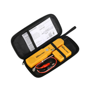 Wire Tracer Detector Telephone Phone Network Cable Tester Line Finder Rj11