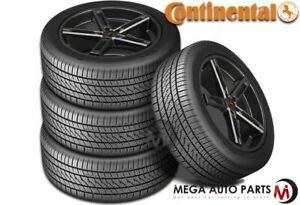 4 Continental Purecontact Ls 245 50r17 99v All Season Grand Touring A S Tires