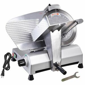 Commercial Electric Meat Slicer 12 Blade Deli Cheese Food Cutter Kitchen Tool