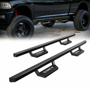 For 2007 2020 Toyota Tundra Crew Max 5 Kyx Running Boards Side Steps Bar