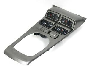 2012 2015 Camaro Zl1 Automatic Center Console Shifter Plate W Gauges Used Gm