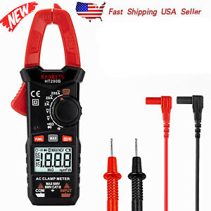 Digital Clamp Meter Ac Current 200a 2000 Counts Multimeter Kaiweets Ht200b
