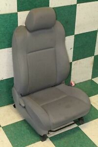 Stains 05 08 Tacoma Access Cab Passenger Cloth Gray Front Bucket Seat Oem