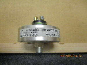New Other Whitman Controls P100g 1 k52ts Pressure Switch 15 Psig Max