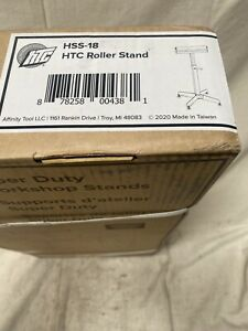 Htc Hss 18 Material Support Stand Horizontal Roller 500 Lb Stand Load Cap 16 W