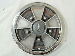 1967 69 Plymouth Mag Hub Cap 14 Stainless H344