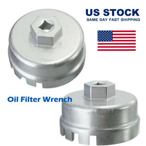 Oil Filter Wrench Cap Housing Tool 14 Flutes Remover Tool Oil Filter Wrench Cap