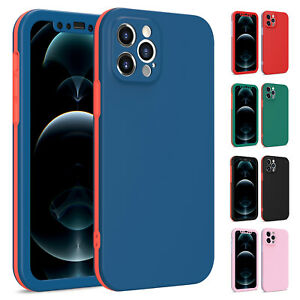 For iPhone 13 Pro Max 12 11 XS XR 8 7 Plus Hard Shockproof Slim Phone Case Cover $9.98