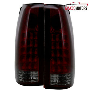 Redsmoke For 1988 1998 Chevy Pickup C10 1500 2500 Gmc Sierra Led Tail Lights