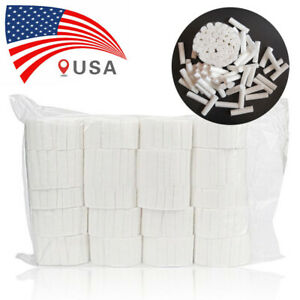 Dental Disposable Medical Cotton Rolls High Absorbent Non sterile Cotton Rolls