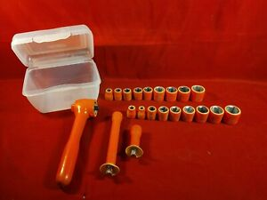 Cementex 21 Pc Socket Set Insulated For High Voltage