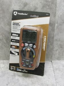 New Southwire 13070t Residentialpro True Rms Cat Iii Multimeter 600 Volt Ac dc