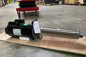 Dayton 45mw93 240v Ac Open Dripproof Multi stage Booster Pump 13 Stage 1 Npt In