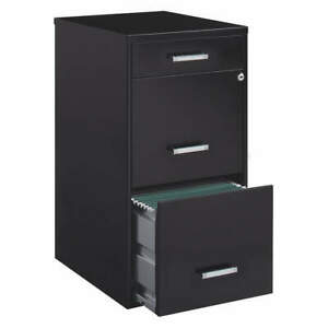 Space Solutions 20225 Flat File Cabinet black powder Coated