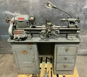 10 X 22 South Band Precision Lathe Lots Of Tooling Milling Attachment 1 Phase