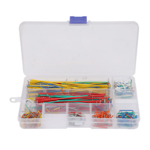 560pcs set Solderless Breadboard Multicolored Jumper Cable Wire Kit Assorted