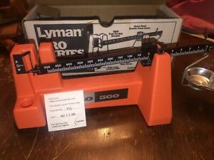 Lyman Pro 500 Powder Scale Reloading Good condition NO PAN OR WEIGHT USED $50.00