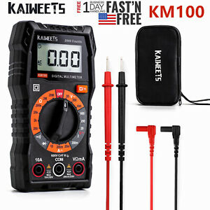Kaiweets Multifunctional Multimeter Ac dc 600v Voltage Dc Current Ohm Amp Tester