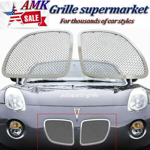 For 2006 2008 Pontiac Solstice Stainless Steel Mesh Grille Grill Insert Ss 2007