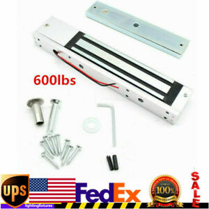 Electric Magnetic Door Lock 280kg 600lbs Holding Force Entry Access Security 12v