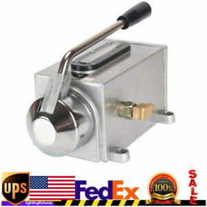 Manual Lubricating Oil Pump Hand Lubrication Oiler For Cnc Milling Machine Usa