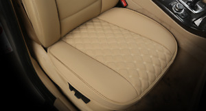 Pu Leather Car Seat Cover Front Set Full Surrounding Cushion Protector Interior