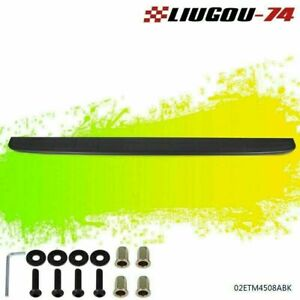 Tailgate Molding Spoiler Cap Protector Fit For 99 07 Chevy Silverado Gmc Sierra Fits More Than One Vehicle