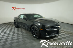 New Listing2013 Chevrolet Camaro Coupe Rear Wheel Drive 62l V8 Backup Camera Leather Seats