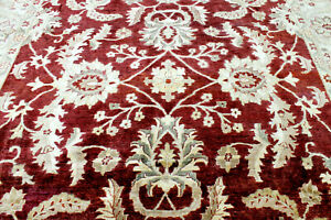 10x13 1960 S Fine Hand Knotted 200 Kpsi Vegetable Dye Wool Tabrizz Oriental Rug