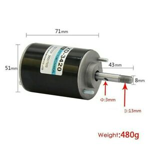 Permanent Magnet Dc Motor For Diy Generator High Speed Xd 3420 Durable