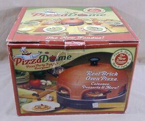 Pizza Dome Brick Oven Pizza Calzones Electric Portable Tabletop