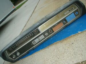 1964 Oldsmobile F85 Cutlass 442 Floor Shift Dash Assembly Complete Fits 1965 65