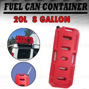 Gasoline Can 5 Gallon 20l Gas Fuel Tank Emergency Backup Army Military Protable