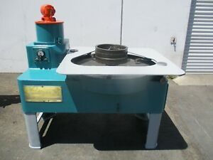 Lapmaster Crane Packaging Company 36 Lapping Machine W Rings And Applicator