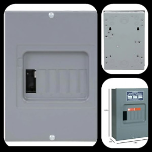 Indoor Main Lug Load Center 100 Amp Electrical Sub panel Box 6 Space 12 Circuit