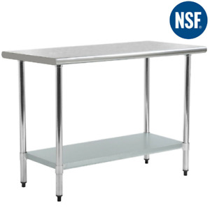 24 X 36 Stainless Steel Kitchen Work Table Commercial Kitchen Restaurant Table