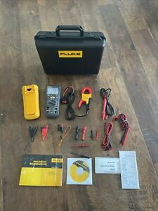 Fluke 1587 I400 Fc Current Clamp Meter Bundle Insulation Meter With Case Acc