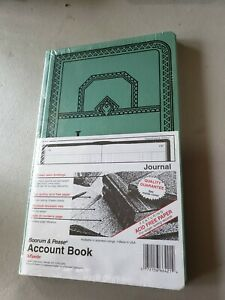 New Boorum Pease Ledger Account Book 12 1 8 X 7 5 8 150 Pages 66 150 j