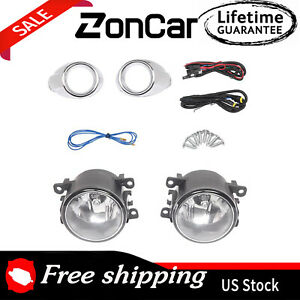 Driving Fog Lights For 2012 2013 2014 Ford Focus 2 0l W Wiring Harness Switch Us
