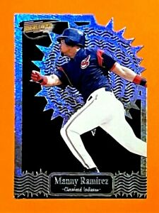 MANNY RAMIREZ 1999 PACIFIC REVOLUTION THORN IN THE SIDE #8 $4.00