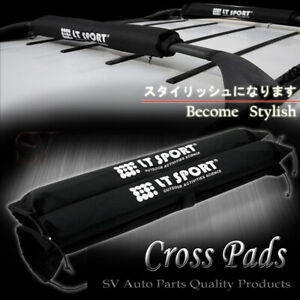Rooftop Rack Protector Cross Bars Round Pad Cargo Carrier Soft Wrap For Jeep