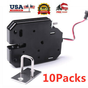 10x K01 Electromagnetic Security Electric Magnetic Door Access Control Lock 12v