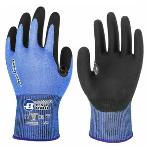 Hanvo Cut Resistant Safety Work Gloves Touch Screen Steel Wire Glass Fiber